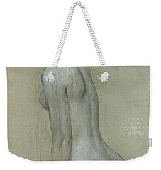 A Naiad In The Lament For Icarus Weekender Tote Bag by Herbert James Draper