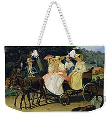 A Run Weekender Tote Bag by Aleksandr Pavlovich Bryullov