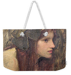 A Study For A Naiad Weekender Tote Bag by John William Waterhouse