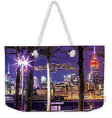 A View To Behold Weekender Tote Bag by Az Jackson