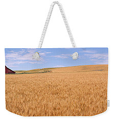 Abandoned Barn Nr Moscow Id Usa Weekender Tote Bag by Panoramic Images