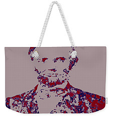 Abraham Lincoln 4c Weekender Tote Bag by Brian Reaves
