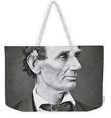 Abraham Lincoln Weekender Tote Bag by Alexander Hesler