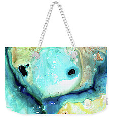 Abstract Art - Holding On - Sharon Cummings Weekender Tote Bag by Sharon Cummings