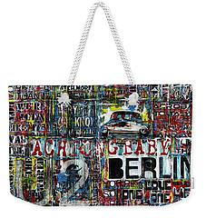 Achtung Baby Weekender Tote Bag by Frank Van Meurs