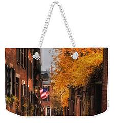 Acorn St. Weekender Tote Bag by Joann Vitali