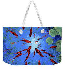 Acqua Azzurra Weekender Tote Bag by Guido Borelli