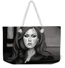 Adele Mixed Media Weekender Tote Bag by Paul Meijering
