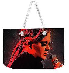 Adele Weekender Tote Bag by Semih Yurdabak