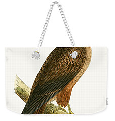 African Buzzard Weekender Tote Bag by English School