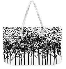 Aki Monochrome Weekender Tote Bag by Cynthia Decker
