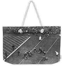 Albie Booth Kick Beats Harvard Weekender Tote Bag by Underwood Archives