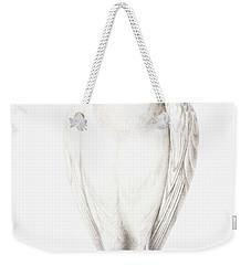 Albino Crow Weekender Tote Bag by Nicolas Robert