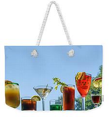 Alcoholic Beverages - Outdoor Bar Weekender Tote Bag by Nikolyn McDonald