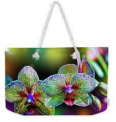 Alien Orchids Weekender Tote Bag by Bill Tiepelman