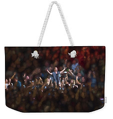 All Hail Eddie Vedder Weekender Tote Bag by Toby McGuire
