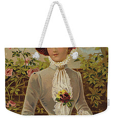 All In A Garden Fair Weekender Tote Bag by English School
