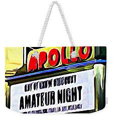 Amateur Night Weekender Tote Bag by Ed Weidman