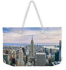 Amazing Manhattan Weekender Tote Bag by Az Jackson
