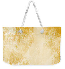 Amber Waves Weekender Tote Bag by Linda Woods