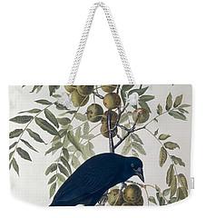 American Crow Weekender Tote Bag by John James Audubon