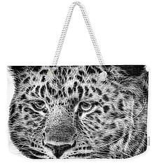 Amur Leopard Weekender Tote Bag by John Edwards