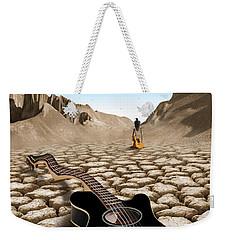 An Acoustic Nightmare 2 Weekender Tote Bag by Mike McGlothlen