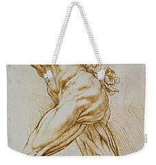 Anatomical Study Weekender Tote Bag by Rubens