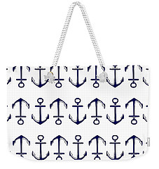 Anchor Weekender Tote Bag by Chastity Hoff