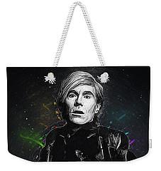 Andy Warhol Weekender Tote Bag by Semih Yurdabak