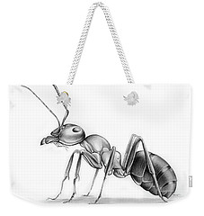 Ant Weekender Tote Bag by Greg Joens