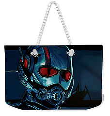 Ant Man Painting Weekender Tote Bag by Paul Meijering