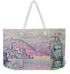 Antibes Weekender Tote Bag by Paul Signac