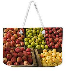Apple Harvest Weekender Tote Bag by Garry Gay