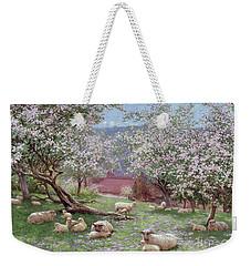 Appleblossom Weekender Tote Bag by William Biscombe Gardner