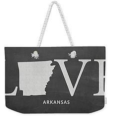 Ar Love Weekender Tote Bag by Nancy Ingersoll