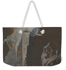 Ariadne Watching The Struggle Of Theseus With The Minotaur Weekender Tote Bag by Henry Fuseli