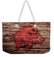 Arkansas Razorbacks Weekender Tote Bag by Brian Reaves