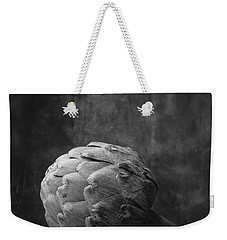 Artichoke Black And White Still Life Weekender Tote Bag by Edward Fielding