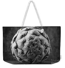 Artichoke Black And White Still Life Two Weekender Tote Bag by Edward Fielding