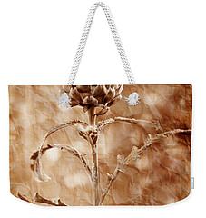 Artichoke Bloom Weekender Tote Bag by La Rae  Roberts