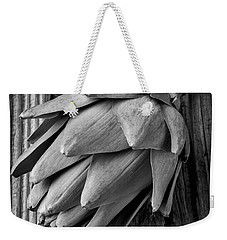 Artichoke In Black And White Weekender Tote Bag by Garry Gay
