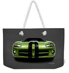 Dodge Viper Weekender Tote Bag by Mark Rogan