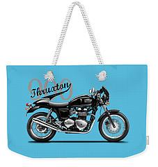 Triumph Thruxton Weekender Tote Bag by Mark Rogan