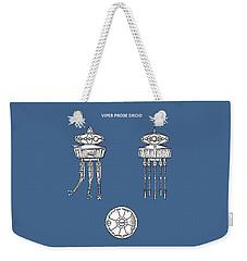 Star Wars - Droid Patent Weekender Tote Bag by Mark Rogan