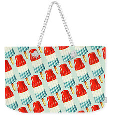 Bomb Pop Pattern Weekender Tote Bag by Kelly Gilleran