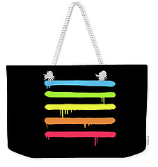 Trendy Cool Graffiti Tag Lines Weekender Tote Bag by Philipp Rietz