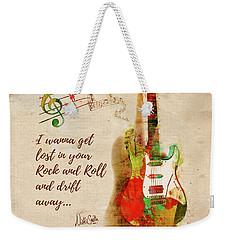 Drift Away Weekender Tote Bag by Nikki Marie Smith