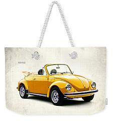 Vw Beetle 1972 Weekender Tote Bag by Mark Rogan