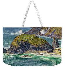 Asparagus Island Weekender Tote Bag by William Holman Hunt